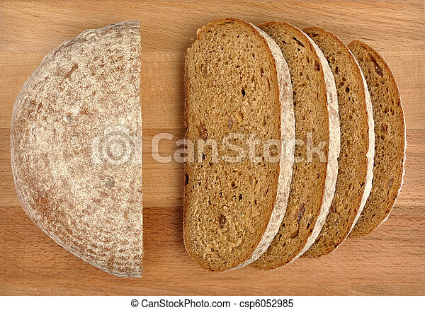 rye bread with raisins - csp6052985