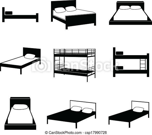 säng, ikonen - csp17990728