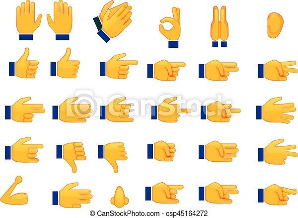 forskellige tegn og symboler