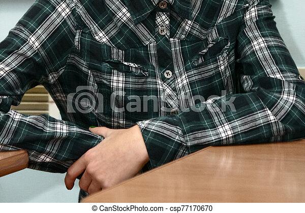 séance, bureau, étudiant - csp77170670
