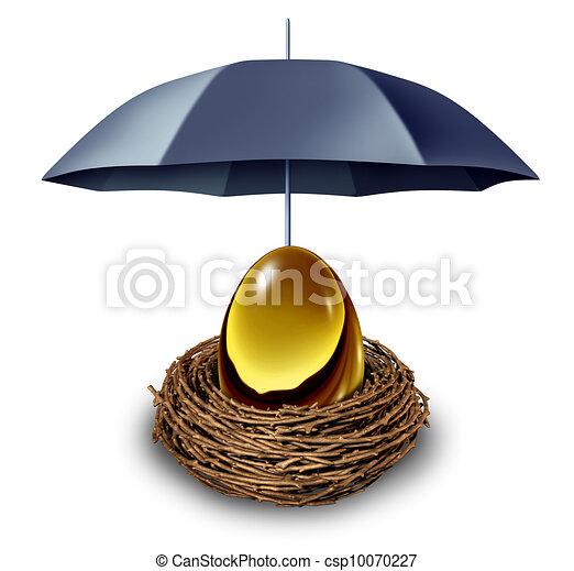 sécurité, financier - csp10070227