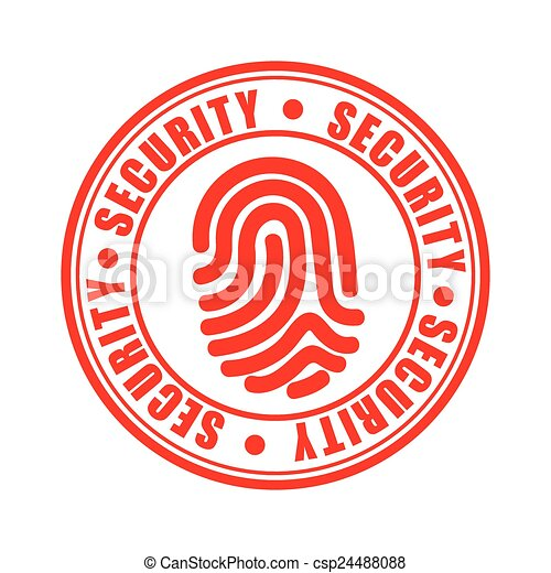 sécurité, icône - csp24488088