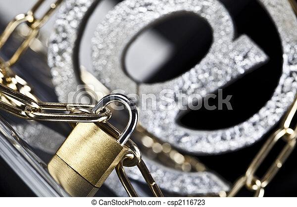 sécurité, internet - csp2116723