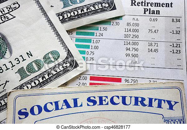 sécurité, plan, social - csp46828177