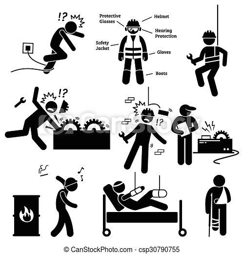 sécurité, professionnel, travail, santé - csp30790755