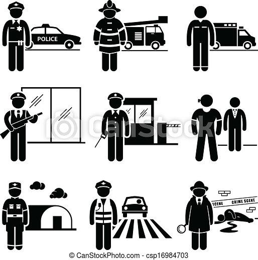 sécurité, sécurité, travaux, public - csp16984703
