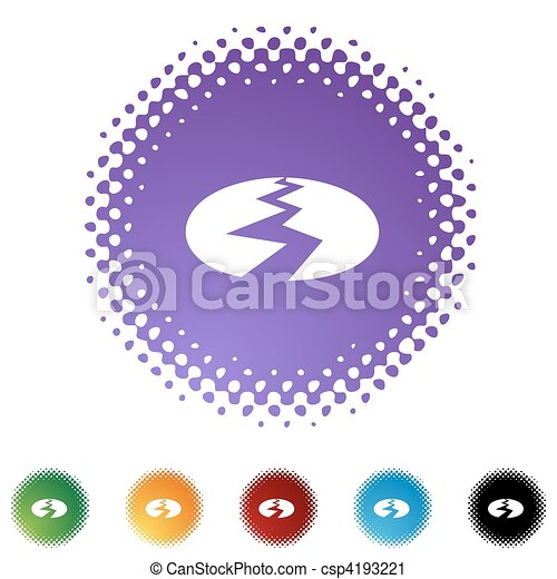 séisme - csp4193221