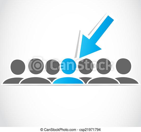 sélection, choix, cueillir - csp21971794