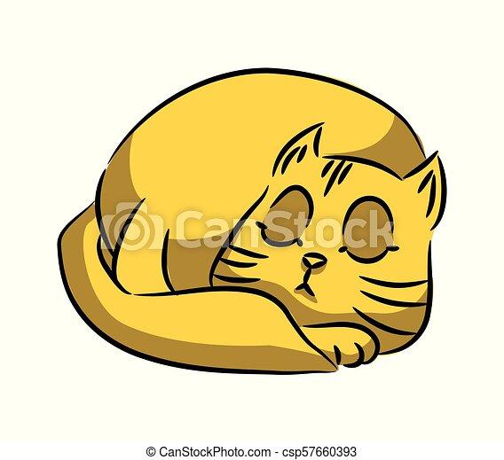 Serie Gato Amarelo Experiencia Gatos Tolo Multi Colorido