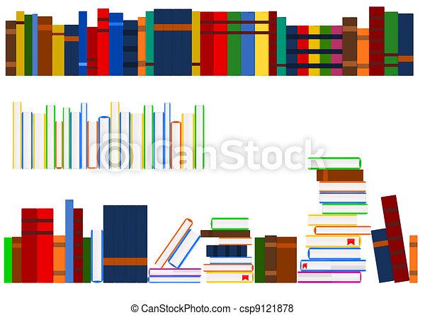 série, livres - csp9121878