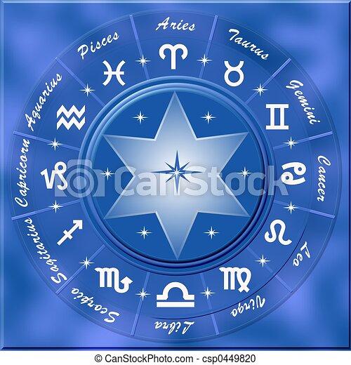 Simbolo de astrología - csp0449820
