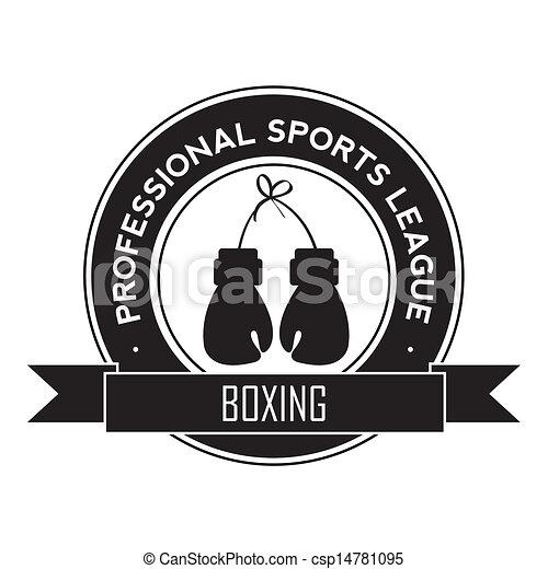 El símbolo de boxeo - csp14781095