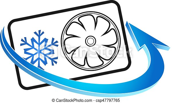 símbolo, condicionamento, ar - csp47797765