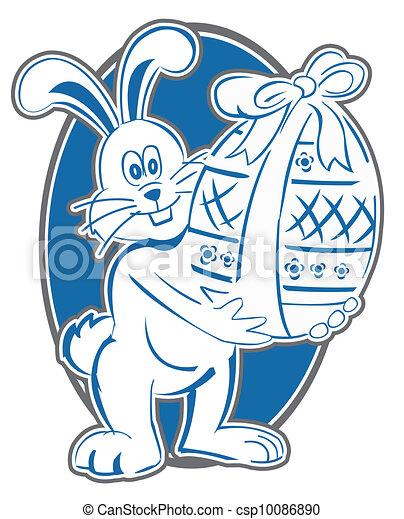 Simbolo de conejo del este - csp10086890