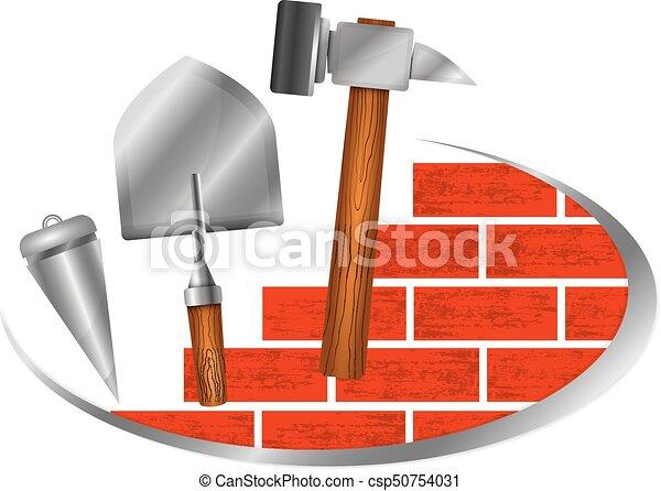 Simbolo de construcción para los negocios - csp50754031