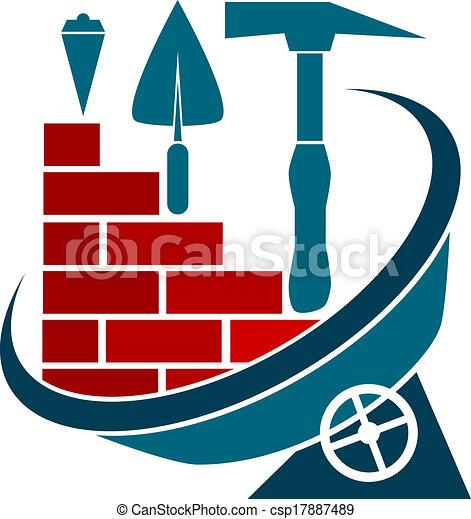 El símbolo de la construcción - csp17887489