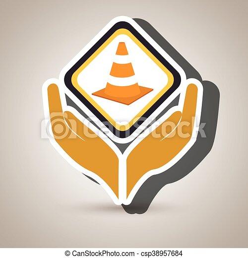 El símbolo de la construcción de herramientas - csp38957684