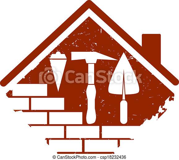 El símbolo de la construcción - csp18232436