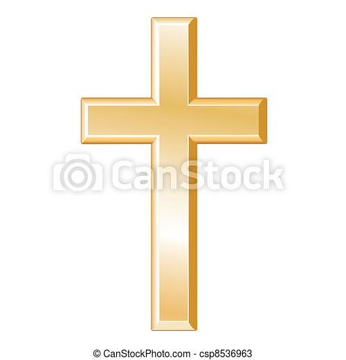 Simbolo de cristianismo - csp8536963