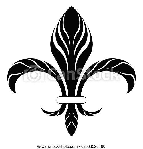 El símbolo Fleur de Lys - csp63528460