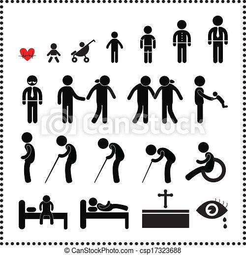 Simbolo de vida humana - csp17323688