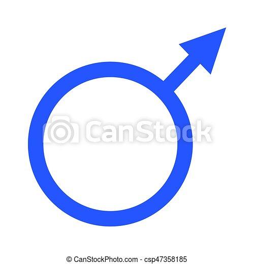 vector de símbolo de género - csp47358185
