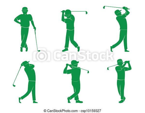 Símbolo de golf - csp10159327