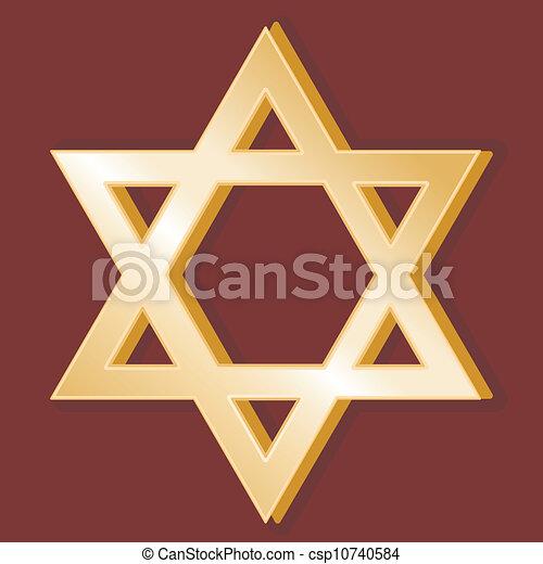 El símbolo del judaísmo - csp10740584