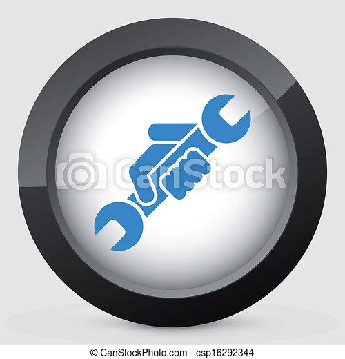 icono del símbolo de la ruina - csp16292344