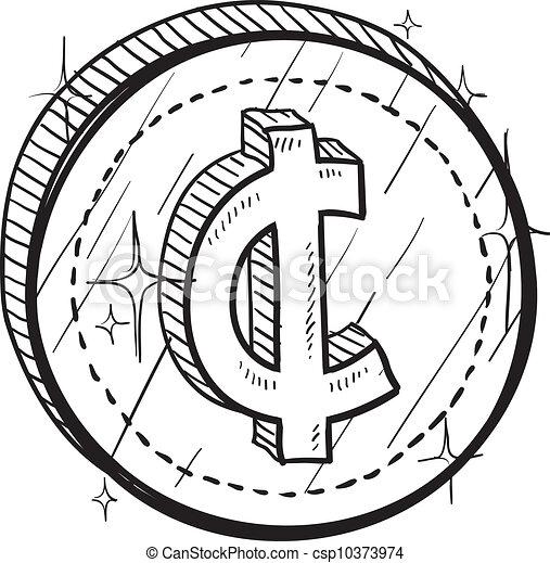 Centrar el vector de monedas - csp10373974