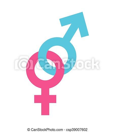 Símbolo Mujer Silueta Icono Hombre Mujer Silueta Símbolo