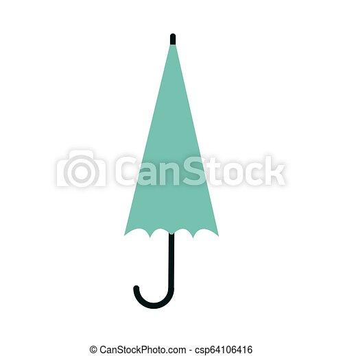 Umbrella símbolo cerrado - csp64106416
