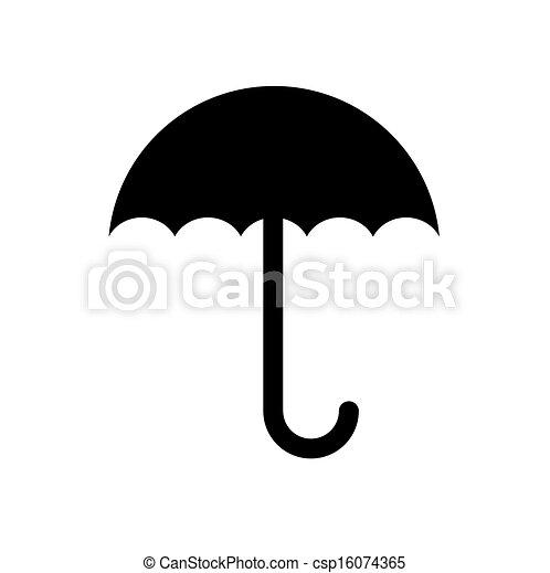 El símbolo de la paraguas - csp16074365