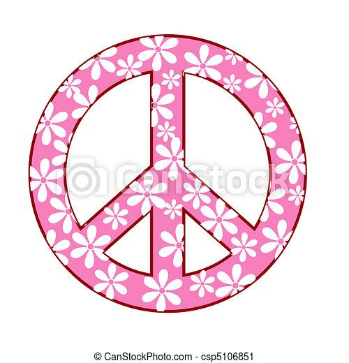 Simbolo de paz - csp5106851
