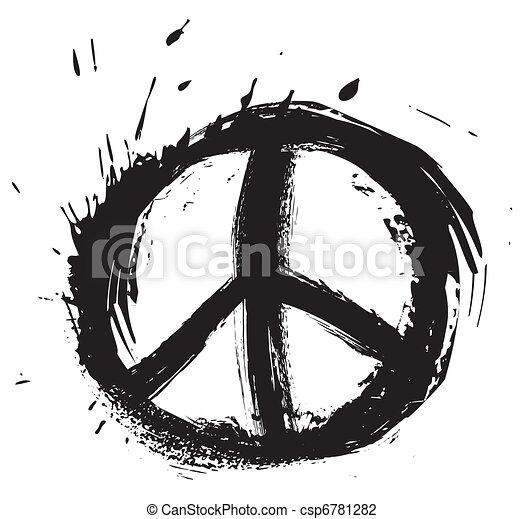 símbolo paz - csp6781282