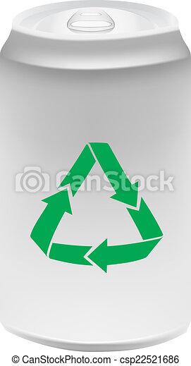 S mbolo reciclagem alum nio lata vetor fa a busca em - Simbolo de aluminio ...