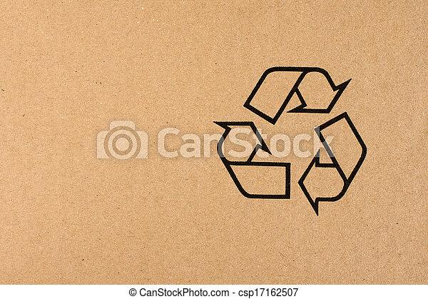 El símbolo de reciclaje - csp17162507