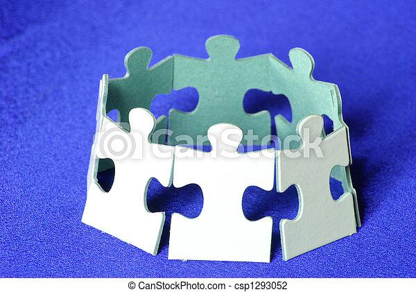El símbolo de reciclaje - csp1293052