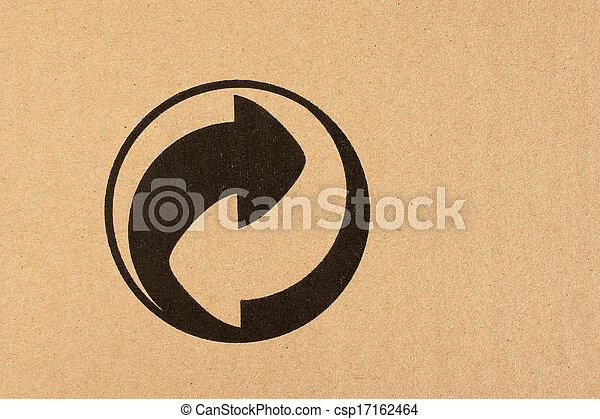 El símbolo de reciclaje - csp17162464