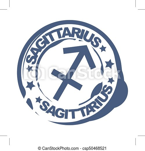 El símbolo Sagitario - csp50468521