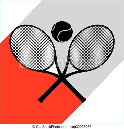 El símbolo del tenis - csp32035037