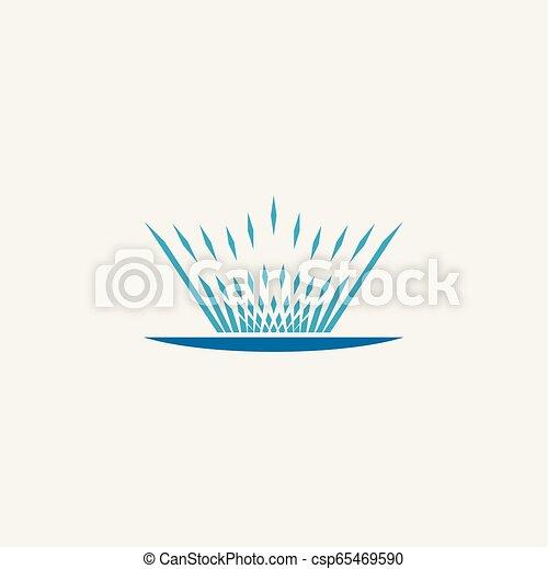 El símbolo de ilustración del vector de icono de la fuente - csp65469590
