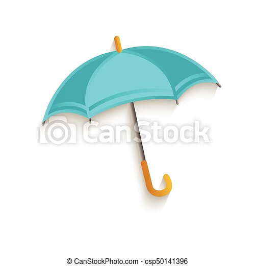El símbolo del paraguas de dibujos animados - csp50141396