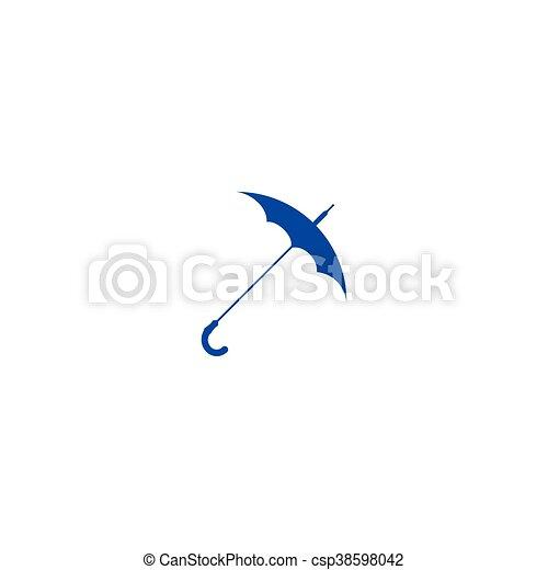 icono vector de paraguas - csp38598042
