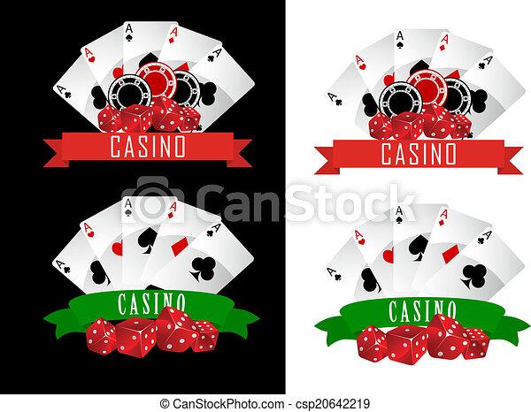 símbolos, casino - csp20642219