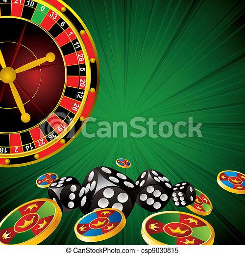 Simbolos de casino - csp9030815
