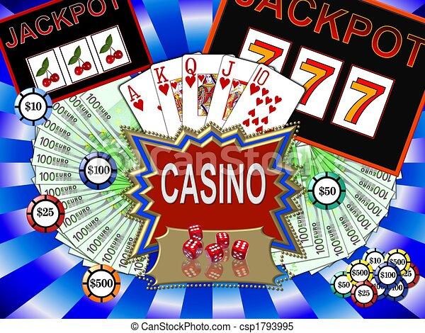 Simbolos de casino - csp1793995