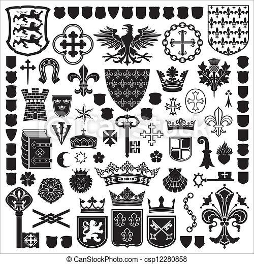 Simbolos y adornos - csp12280858
