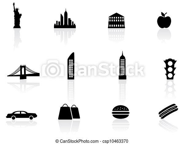 Los símbolos de Nueva York - csp10463370