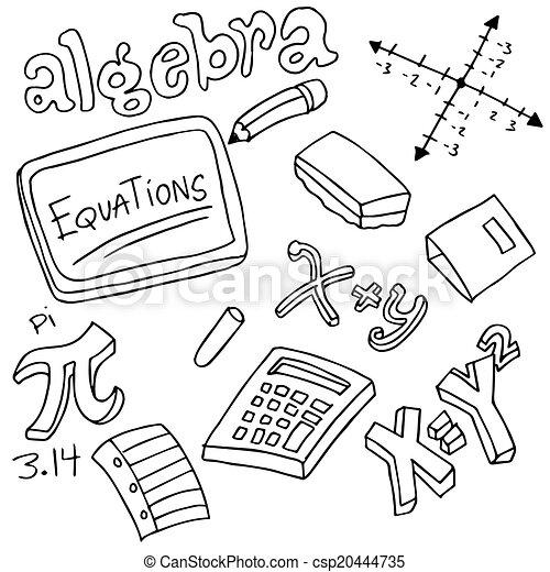 Símbolos de álgebra y objetos - csp20444735